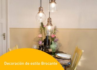 Decoración de estilo Brocante