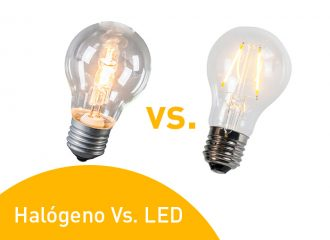 Halógeno Vs. LED