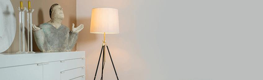 Lámparas de piso de diseño
