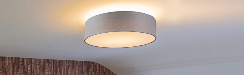 Lámparas de techo gris