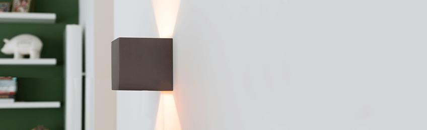 Luces de la pared gris