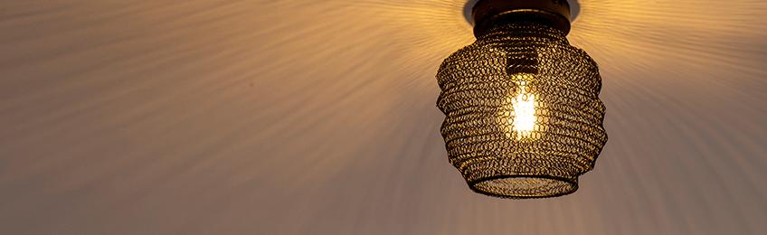 Lámparas de techo orientales