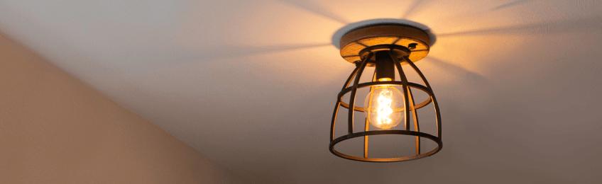 Lámparas de techo industrial