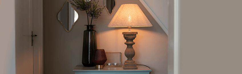 Lámparas de sobremesa clásicas