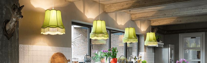 Lámparas verdes