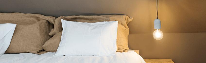 Lámparas colgantes de dormitorio