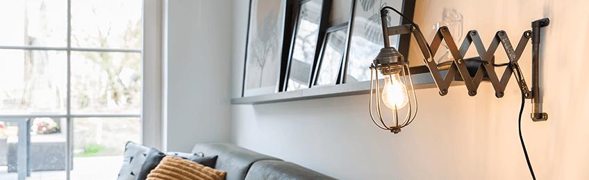 Resistentes lámparas de pared industriales