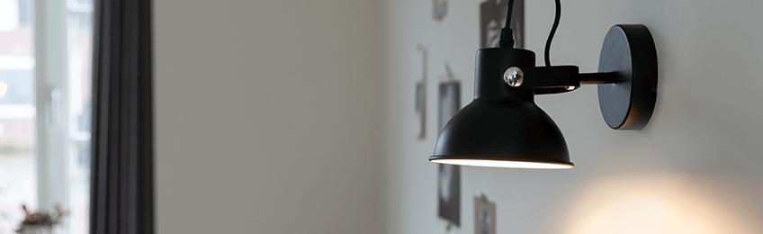 Lámparas de pared retro