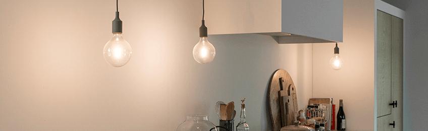 Iluminación LED de la cocina