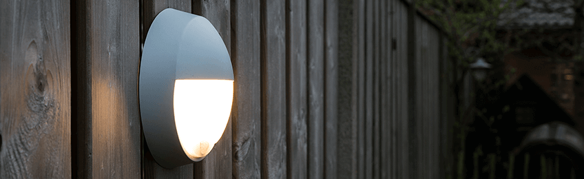 Lámparas de exterior con sensor