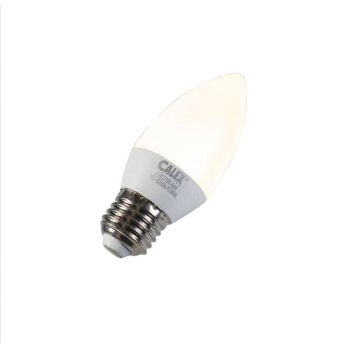 Bombilla-vela-LED-E27-5W-240V-2700K-regulable