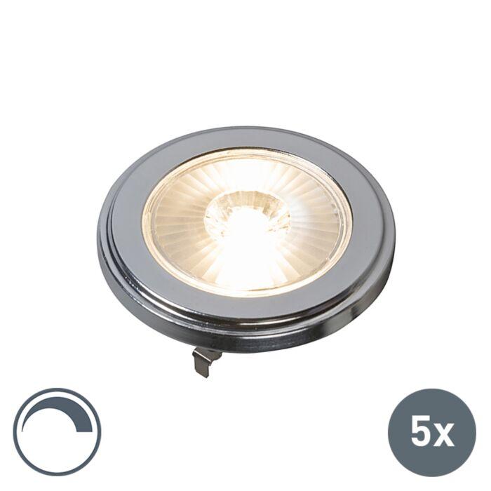Set-de-5-Bombillas-G53-LED-10W-800LM-3000K-regulable