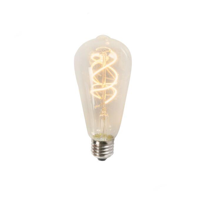 Bombilla-LED-filamento-forma-espiral-ST64-5W-2200K-transparente