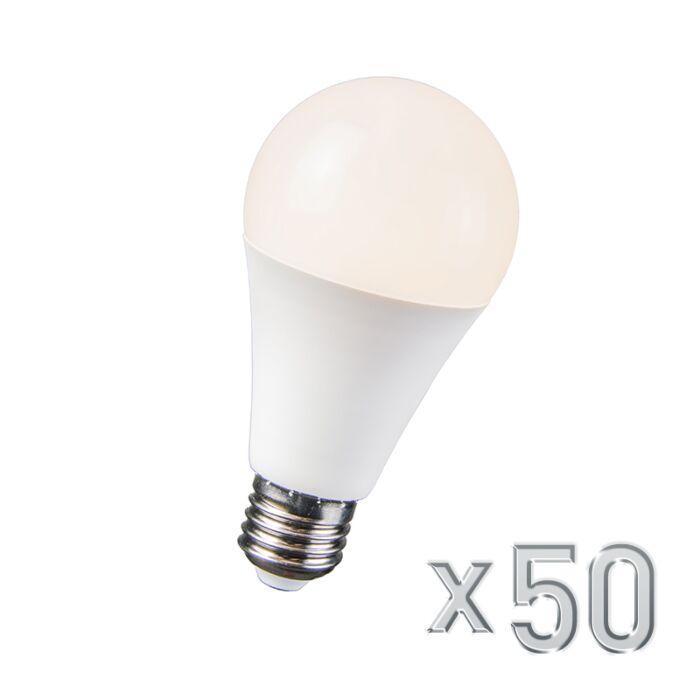 Set-de-50-bombillas-LED-10W-E27-B60-10WW