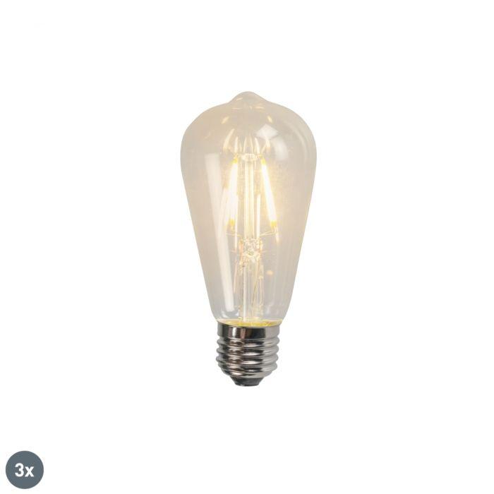 Set-de-3-bombillas-de-filamento-LED-E27-ST64-4W-320lm-2700K