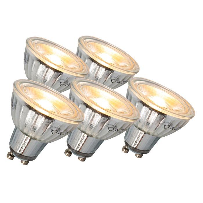 Set-de-5-bombillas-GU10-LED-7W-500LM-3000K-regulables