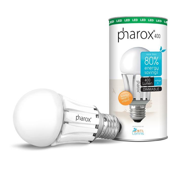 Bombilla-PHAROX-LED-400-E27-8W-(=40W)