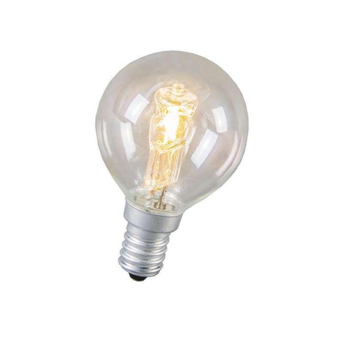 Bombilla-globo-halógena-E14-28W