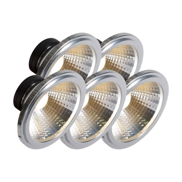 Set-de-5-bombillas-AR111-LED-COB-7W-24°
