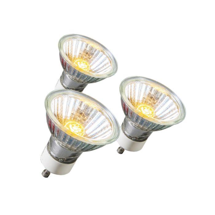 Set-de-3-bombillas-halógenas-GU10-28W-220LM-230V