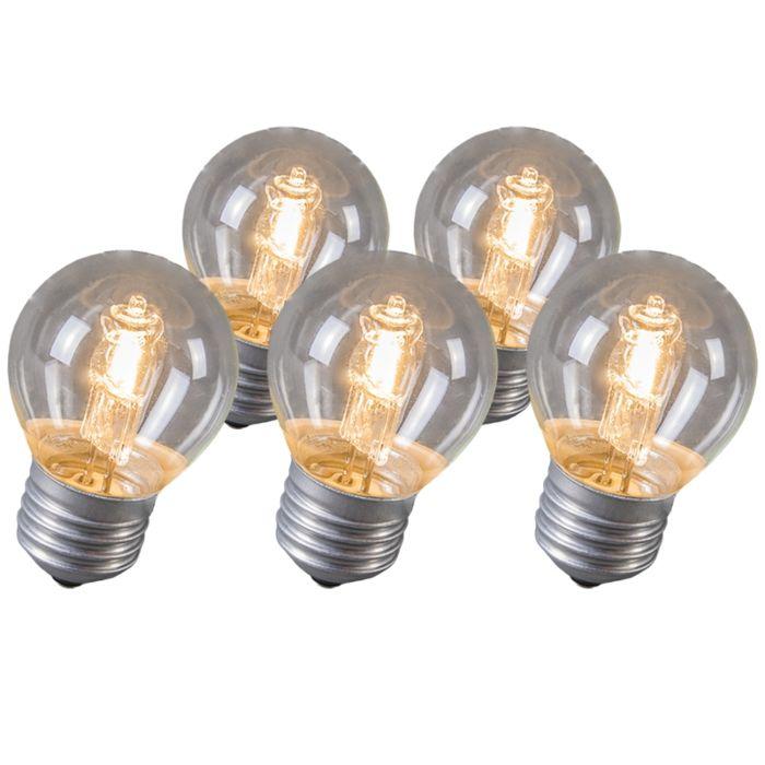 Set-de-5-bombillas-halógenas-E27-28W