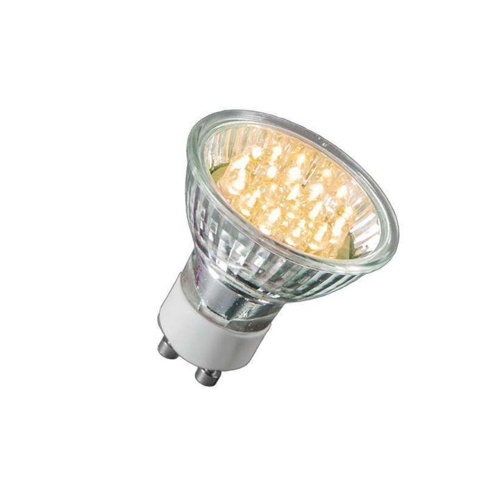 Bombilla-LED-GU10-21-LED's-blanco-cálido