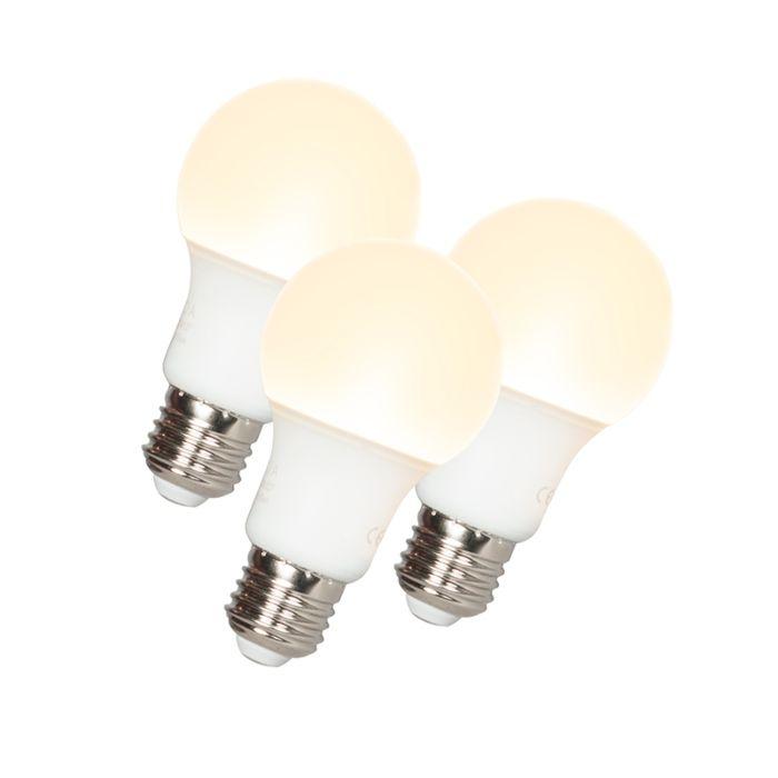 Set-de-3-bombillas-LED-A60-E27-9W-3000K