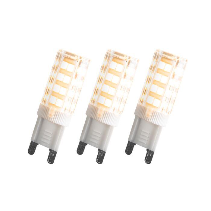 Set-de-3-bombillas-G9-LED-3,3W-280LM
