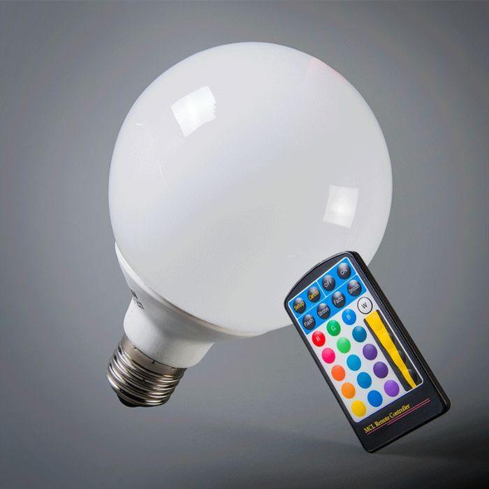 Bombilla-globo-LED-E27-RGB-95mm-con-mando-a-distancia