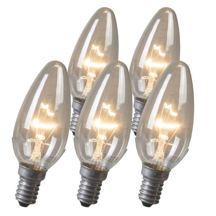 Set-de-5-bombillas-de-vela-halógenas-E14-40W-transparente