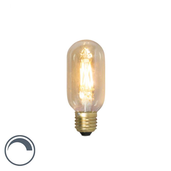 Bombilla-filamento-tubo-regulable-E27-T45L-4W-320lm-2100K-LED