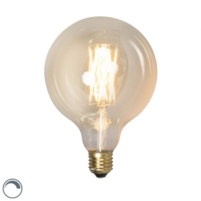 Bombilla-filamento-LED-regulables-E27-G125-GOLDLINE-320lm-2100-K