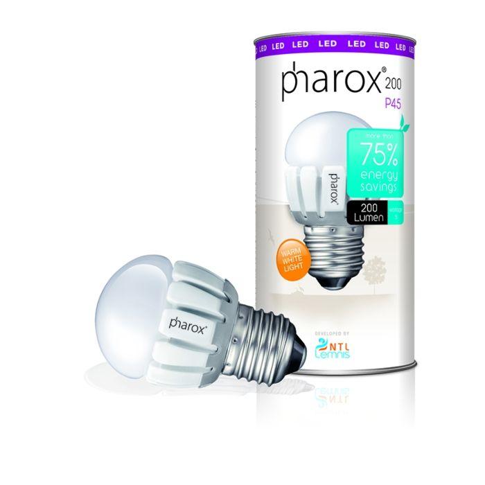 Bombilla-PHAROX-LED-200-P45-E27-230V