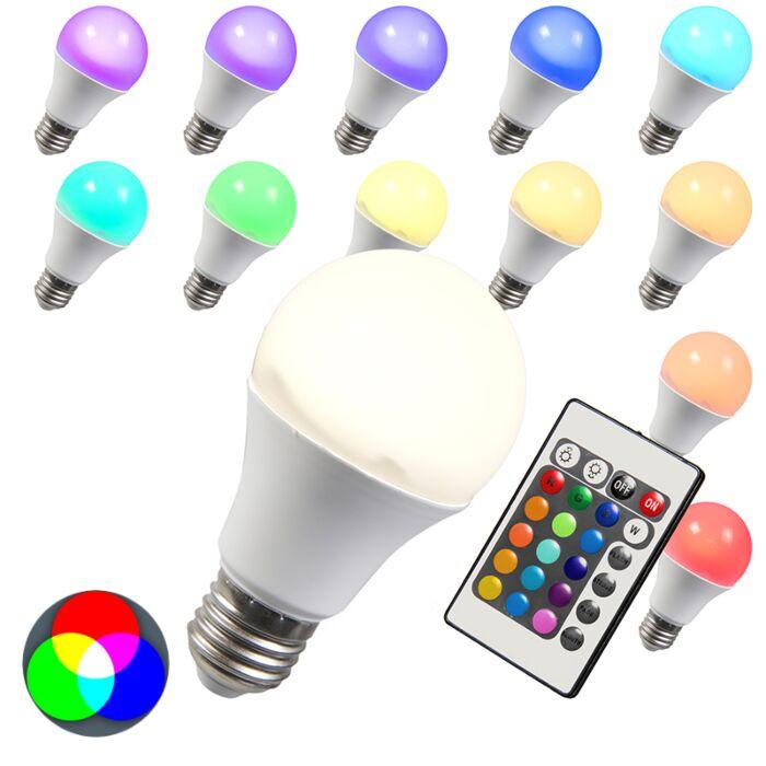 Bombilla-LED-RGB-E27-10W-blanco-cálido-extra