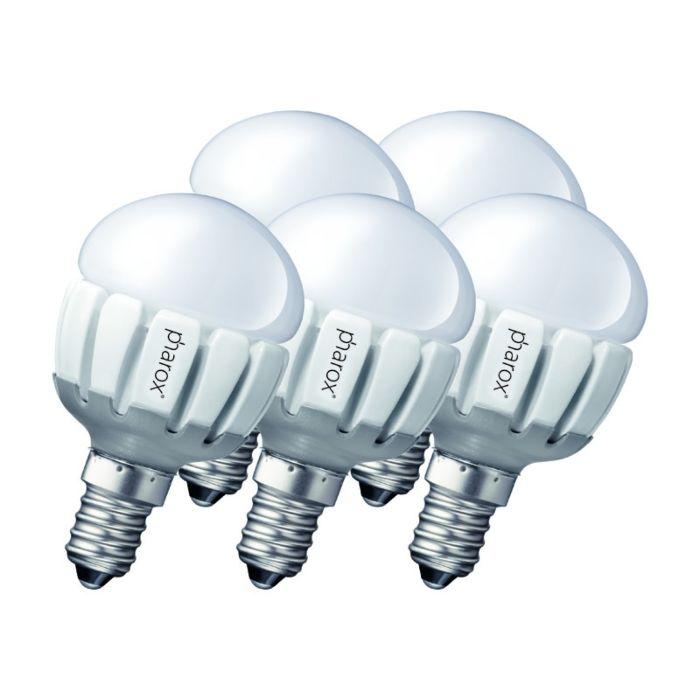 Set-de-5-bombillas-Pharox-LED-200-P45-E14-5W-230V
