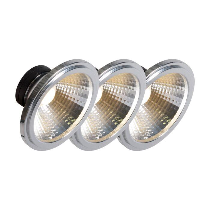 Set-de-3-bombillas-AR111-LED-COB-7W-24°