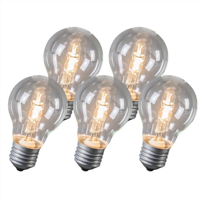 Set-de-5-bombillas-halógenas-E27-42W