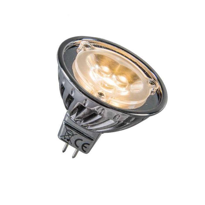 Bombilla-LED-12V-MR16-3-x-1W-(=30W)-blanca