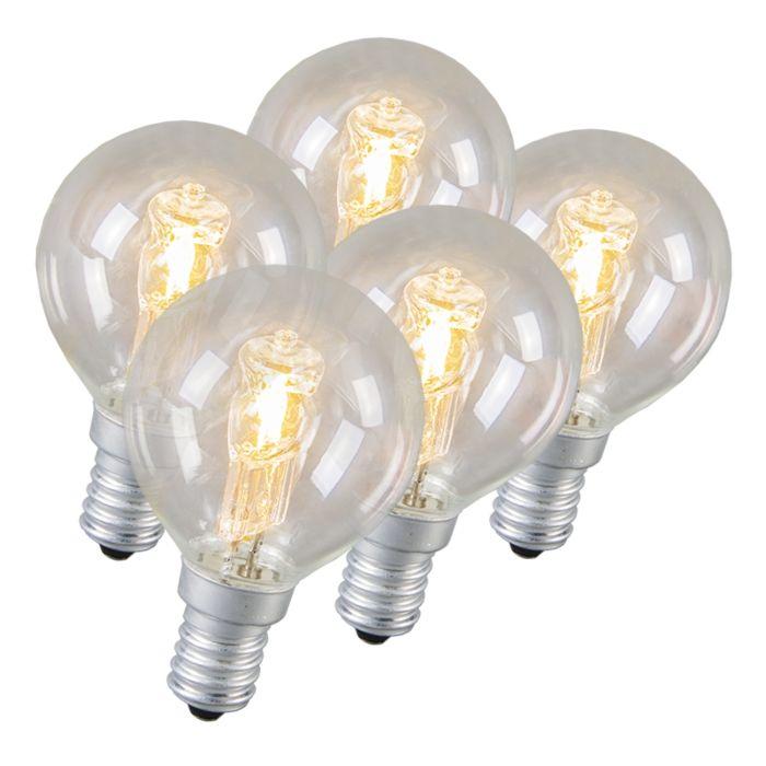 Set-de-5-bombillas-halógenas-E14-28W