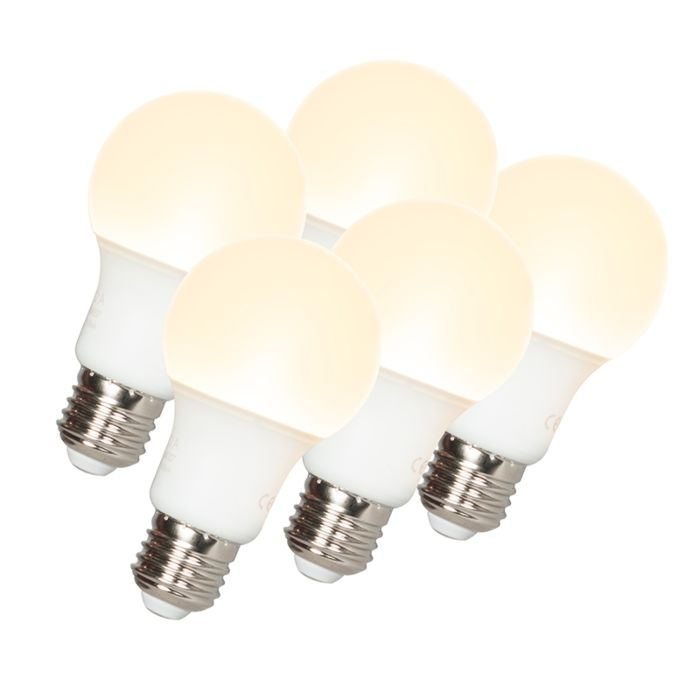 Set-de-5-bombillas-LED-A60-E27-9W-3000K