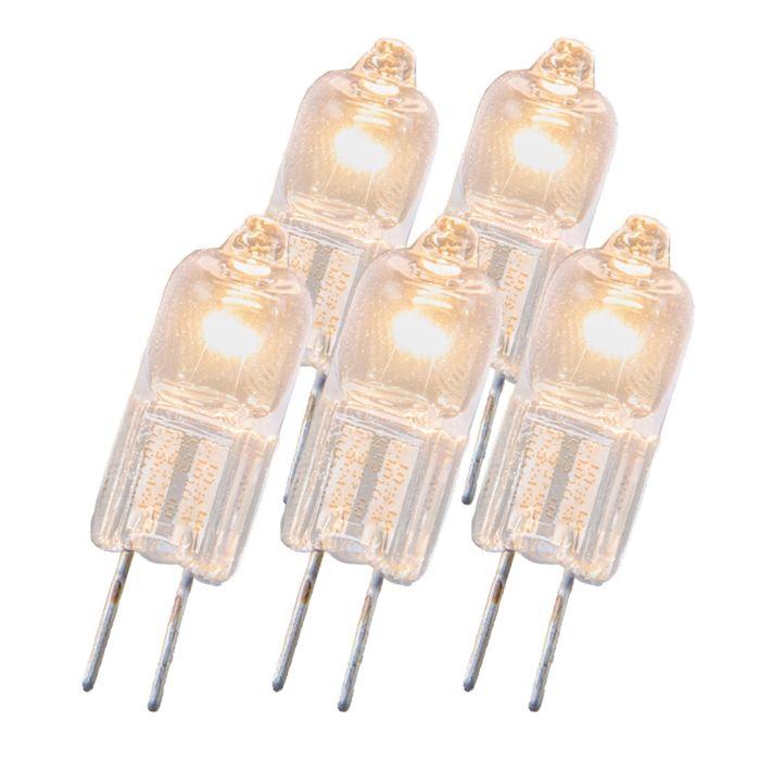Set-de-5-bombillas-halógenas-G4-20W-12V