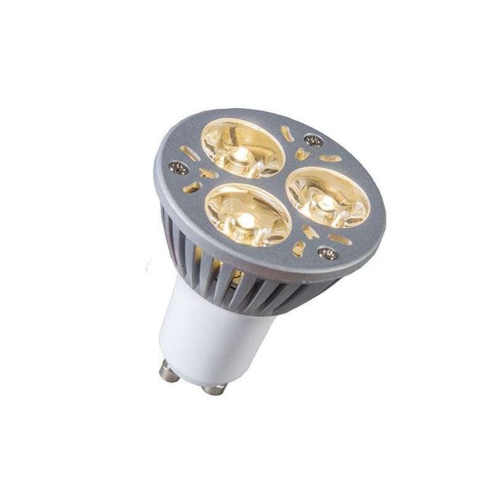 Bombilla-LED-GU10-regulable-3x1W-blanco-cálido-regulable