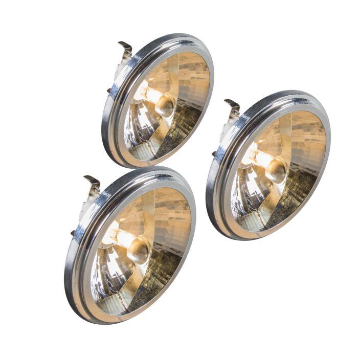 Set-de-3-bombillas-G53-QR111-50W-12V