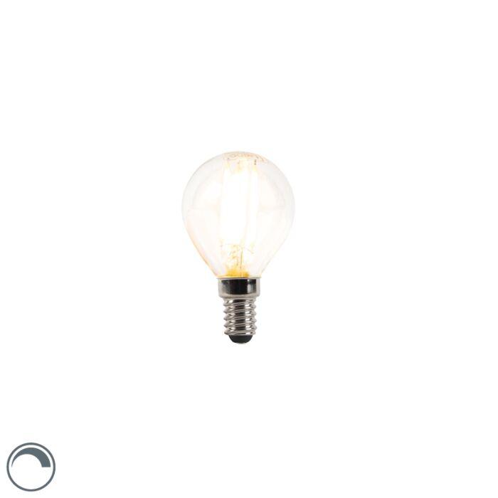 Bombilla-LED-E14-regulable-bola-filamento-3W-250lm-2700K
