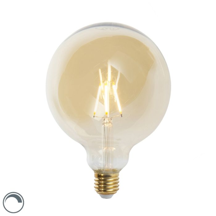 Bombilla-filamento-LED-regulable-E27-G125-GOLDLINE-2200K