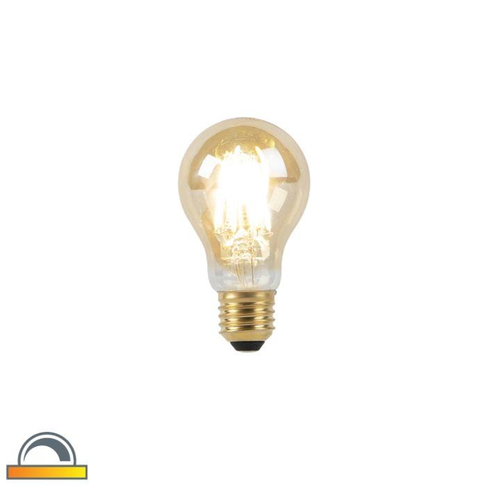 Bombilla-LED-E27-A60-8W-2000-2600K-filamento-dorado