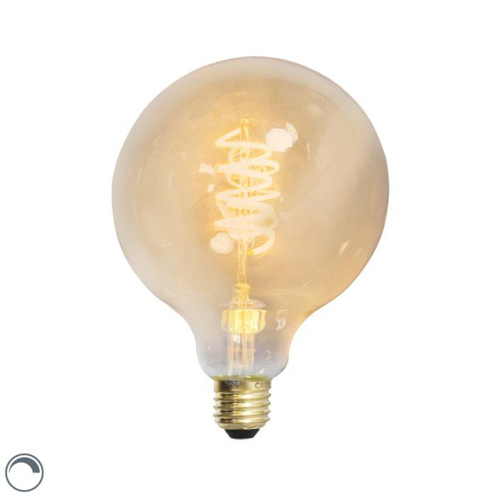 Bombilla-LED-globo-E27-4W-200lm-regulable-filamento-retorcido