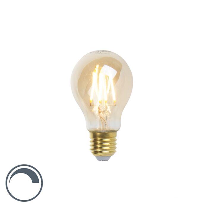 Lámpara-de-incandescencia-LED-Goldline-E27-5W-360lm-A60-regulable