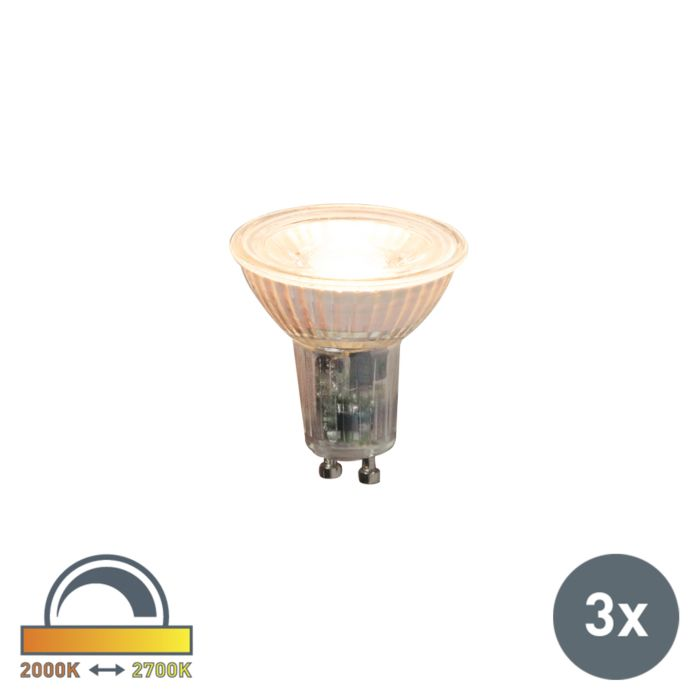 Set-de-3-bombillas-LED-regulables-GU10-5.5W-360lm-2000K-2700K