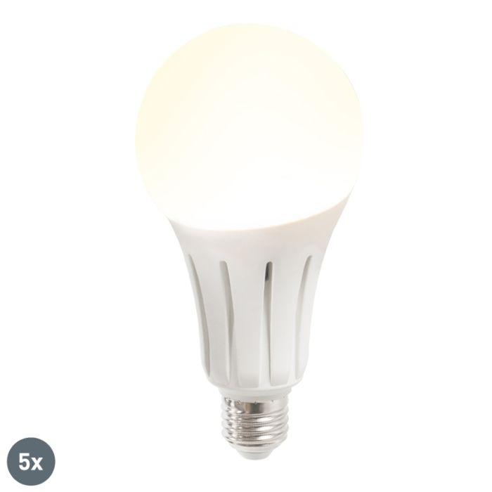 Set-de-5-bombillas-LED-B80-24W-E27-blanco-cálido